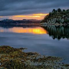Frdesfjorden, Norway (Vest der ute) Tags: g7x norway rogaland ryksund sunrise refections seascape landscape fav25 fav200
