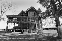 (Black.Doll) Tags: abandoned mansion house cotton tinroof folkvictorian turret porch veranda bullochcounty georgia