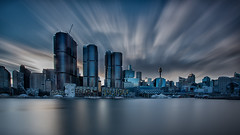 Sydney Sunrise 3 (RoosterMan64) Tags: sydney cityscape cityskyline skyline longexposure leefilters landscape nsw australia clouds sydneyharbour