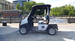 Parks Canada Cart (Exile on Ontario St) Tags: parcscanada cart montreal parkscanada voiture vehicle voiturette golfcart golf canaldelachine lachinecanal montral lachine canal canallachine employs national park parcs nationaux federal logo castor beaver workers worker working work employment car automobile parked stationn parking lock locks cluse cluses saintgabriel clusessaintgabriel clusesstgabriel saintgabriellock stgabriellock carryall carryall300 electric zeroemissions zero zeroemission emission emissions