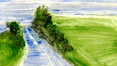 route 15 (Frdric Glorieux) Tags: frdricglorieux france route road acryl peinture painting
