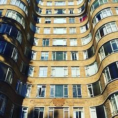 15/08/16 - Florin Court, London. (ordinarynomore) Tags: building bricks curved structure florincourt artdeco