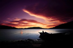 C'era silenzio. (swaily  Claudio Parente) Tags: swaily claudioparente lago lagodicampotosto sunset tramonto sjy cielo nikon nikond300 lake