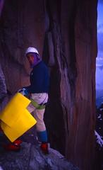 Bivouac, Vire des Allemands (andywalker1) Tags: andrewwalker americandirect dru petitdru chamonix alps alpineclimbing