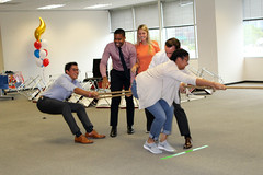 Houston Office Olympics (Transwestern) Tags: transwestern cre commercialrealestate realestate wellness wellbeing workplacewellness bestplacestowork bptw culture corporateculture office officeevent officeevents olympics officeolympics
