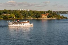 Boat in Stockholms archipelago (Henrik Axelsson) Tags: kvarnholmsbron nacka stockholm vatten water stersjn stockholmsln sverige se