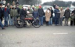 Motorcycle (Ne*Hunn on Tank) Reg: C 7142 (bertie's world) Tags: sunbeam pioneer run 1979 epsomdowns motorcycles motorcycle reg c7142