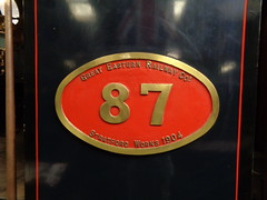 Numberplate (Pete 1957) Tags: railway steam steamengine rail preserved preservedrailway heritage bressingham museum ger 060t