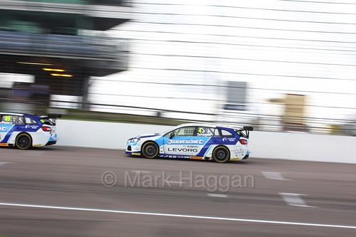 Colin Turkington at Rockingham, August 2016