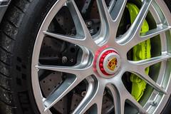 Porsche 918 Spyder Wheel (emilhallengren) Tags: 918spyder automotive brakedisc caliper car garden norrviken norrvikengardens norrvikenstrdgrdar porsche porschedays porschemeet porschedagarna rim supercar vehicle wheel