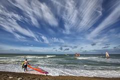 Amazing sky, day 6 (Cold Hawaii World Cup) Tags: action coldhawaii day6 denmark klitmller netipcoldhawaiipwaworldcup2016 northsea pwa pwaworldcup windsurfing