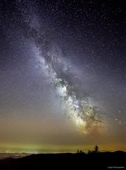 Mont Aigoual milky way (lhags2000) Tags: eos 5dmark2 canon 50mm milkyway milky way voie lacte nuit night ciel sky stars toiles