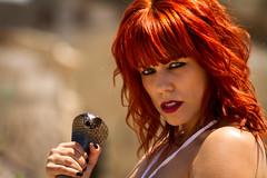 Amazon girl (Instagram: @meridiophotography) Tags: canon 7d tamron redhead pelirroja amateur model look eyes beauty tatoo spain portrait retrato tatuaje meridiophotography maxkettner airelibre serpent serpiente amazon amazona warrior