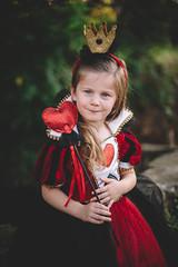 the queen of hearts. (Brandy Jaggers) Tags: nikond700 nikon50mmf14 portrait princess vsco06