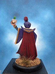 Painted Reaper Miniature Aziz Al-Jawar Evil Sorcerer. (Painted Miniatures) Tags: painted reaper miniature aziz aljawar evil sorcerer