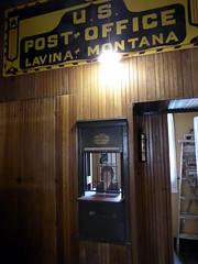 Lavina, Montana (Postmarks from Montana) Tags: montana lavina goldenvalley postoffice