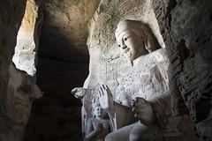 La cova dels 1000 Budes, Datong (irispuag) Tags: serene sculpture escultura buda budism china xina chinese middle country travel viatjar viaje summer verano estiu budisme budismo tranquilidad cueva cave 1000 datong