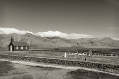 The Church at Budir _4574 (hkoons) Tags: snaefellsnespeninsula budir christ church country iceland rip architecture building cemetery countryside dead faith faithful graves island landscape modern north outdoors philosophy religion sect worship worshipers