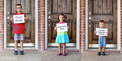 First Day (stephmull) Tags: kids september preschool firstdayofschool backtoschool thirdgrade owp shuttersisters 3651for2012 toolittleforschool