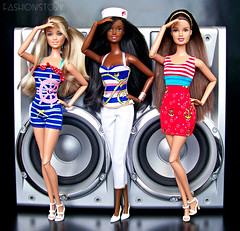 Super Bass Nauticals (fashionisto2k) Tags: fashion dolls barbie skipper pack teresa sailor mattel fashionistas teennikki