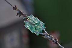 Insulator (opopododo) Tags: glass wire industrial suspension cable insulator