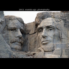 Carved with dynamite ... (mariola aga) Tags: sculpture closeup square carved faces mount dynamite mountrushmore presidents granit nationalmemorial ushistory thegalaxy