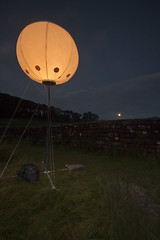 connecting light (~Ventnor~) Tags: park light moon art weather festival digital canon balloon culture sigma led northumberland national installation 7d 1020mm cultural connecting olympiad london2012 yesyesno northnp