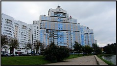 Fabulous architecture of Mins (theredquest.com) Tags: travel tourist communist communism belarus minsk sovietunion theredquest