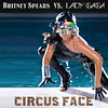 circus face (res510) Tags: music lady photoshop artwork spears mashup cover britney gaga fanmade