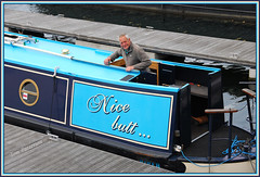 ANOTHER INTRIGUING NARROWBOAT NAME... (tommypatto ~ IMAGINE : On extended gardening leave) Tags: boats barcos canals barges narrowboats inlandwaterways