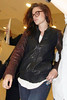 Kristen Stewart arrives at Toronto airport for the Toronto International Film Festival