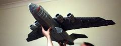 Swoosh! (Babalas Shipyards) Tags: lego aircraft cargo swoosh tacticalairlift