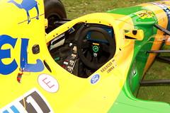 Michael Schumacher's Benetton B192 F1 Car (BenValjean) Tags: auto england london cars car canon eos michael chelsea outdoor f1 legends dslr schumacher carshow 2012 benetton 500d 英国 伦敦 eos500d b192 benettonb192 benjamingoodacre goodacrephotography