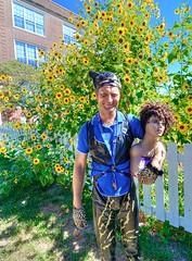catmanrevealed! (roscoepoet) Tags: lawrence lee sunflower poet batman kansas dennis abbott roscoe catman dennisleeabbot nikond7000 roscoepoet dennisabbot