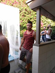 DSCN8736 (CAHairyBear) Tags: man men uomo mann hombre homme poolparty hom