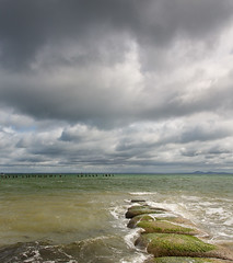 Breakwater (RWYoung Images) Tags: sea sky water canon bay geelong corio rwyoung 5diii
