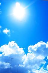 _DSF3472_1 (oncoinco0920) Tags: blue sky cloud sun japan photography photo tokushima retouch x100