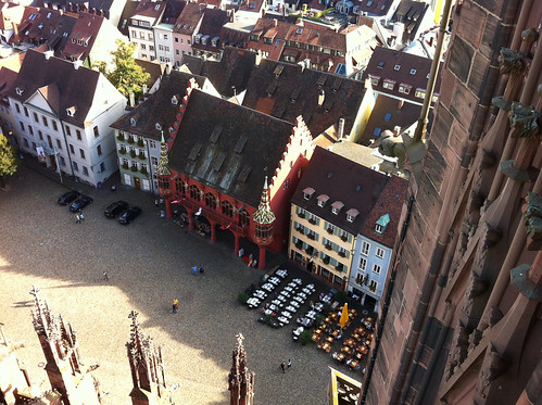 Historisches Kaufhaus from above
