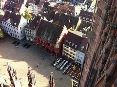 Historisches Kaufhaus from above