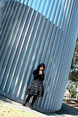 Gothic lolita out door 010 (Mr.NM.Zero) Tags: boy black cute doll dress vampire cd gothic lolita egl mana crossdress  ero crossplay dolllike australiantechnologypark    brolita mrnightmare         animinia
