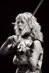 Natalie MacMaster (Stephen A. Wolfe) Tags: portrait blackandwhite bw blackwhite violin dublinirishfestival nataliemcmaster niksoftware adobephotoshopcs5 silverefexpro2 colorefexpro4 adobelightroom4