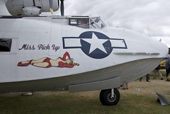 Consolidated PBY Catalina, Miss Pick Up, Nose Art, Goodwood Revival (Peter Cook UK) Tags: sussex 1944 noseart 2012 consolidatedpbycatalina 433915 misspickup exhibitedatthegoodwoodrevival
