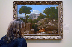 Poussin, Landscape with Saint John on Patmos with Beth