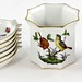 152. Herend Porcelain Smoking Set