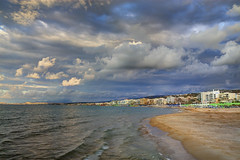 Autumn (Theophilos) Tags: autumn sea sky beach clouds crete rethymno