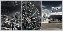 wonder wheel (javimorenoe) Tags: newyork brooklyn coneyisland wonderwheel noria nuevayork parquedeatracciones