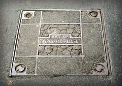 Hungarian Royal Telephone Company (elinor04 thanks for 35,000,000+ views!) Tags: street city building metal architecture iron hungary metallic budapest jewish quarter historical ironwork ironworks jewishquarter erzsébetváros