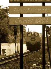 Locomotive Diesel Hydrolic D Series (Jefta Julio Gregy) Tags: rememberthatmomentlevel1 me2youphotographylevel1