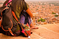 (ranjini.v) Tags: india beautiful wall golden place rajasthan cityview ranjini jaisalmerfort beautifulplace nikond60 jaisalemr