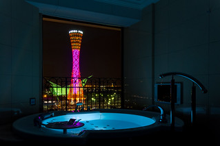 Kobe Port Tower - from View Bathroom